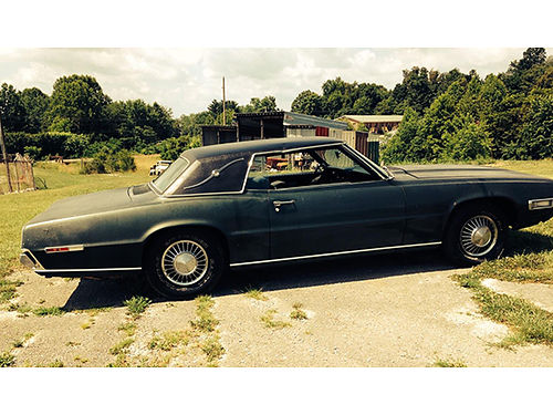 1968 FORD THUNDERBIRD 2dr hardtop only 58K miles 429ci motor C6 auto trans can hear run 6500 42