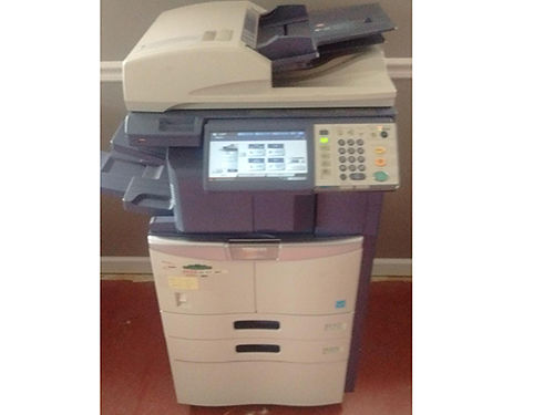 COPIER pre-owned Toshiba eStudio 456 wstapler excellent condition w cabinet Retail 2500 asking