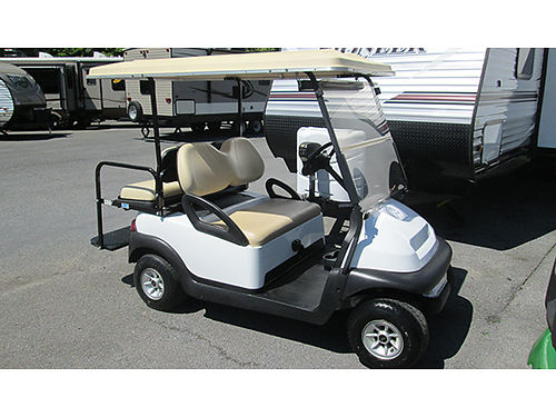 GOLF CART Club Car electric wfresh batteries light kit rear seat full top great condition 350