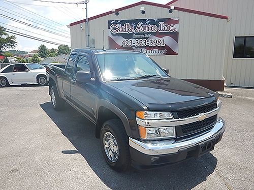 2008 CHEVY COLORADO ext cab LT 4WD auto 12235 8950 CARLS AUTO Blountville TN 866-883-2302