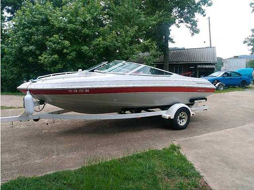 1995 CHRIS CRAFT 185 walk-thru windshield 43L Cobra V6 IO incl trailer well maintained lake