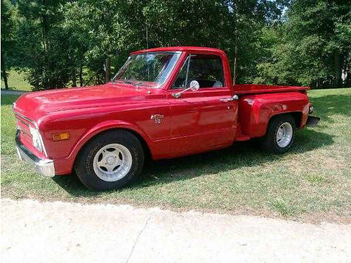 1967 CHEVROLET C10 completely restored stepside wWalnut bed floor rebuilt 327 V8 auto almost ev