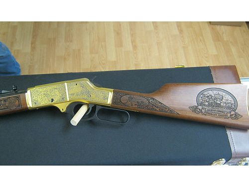 RIFLE Johnson City Special Edition 2 of 50 Henry Golden Boy 30-30 3400 OBO