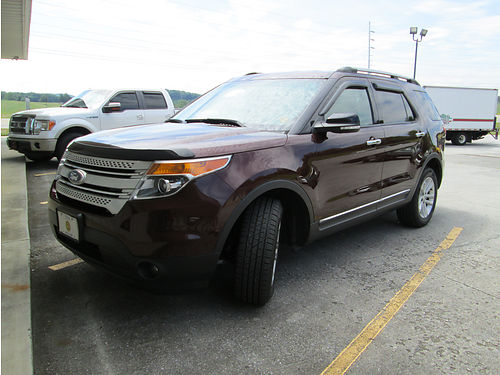 2012 FORD EXPLORER Limited Edition 86K miles 4WD 3rd row seat leather bluetooth XM radio crus