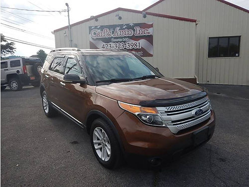 2011 FORD EXPLORER XLT 4WD loaded 12237 13975 CARLS AUTO Blountville TN