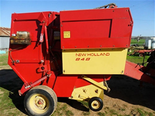 HAY BALER 4x5 round rolls field ready well maintained 5300 423-753-0769