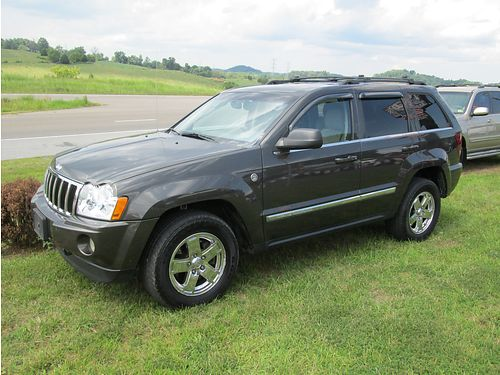 2005 JEEP GRAND CHEROKEE Limited Trail Rated every avail opt 57L Hemi navi new cond 5059 799