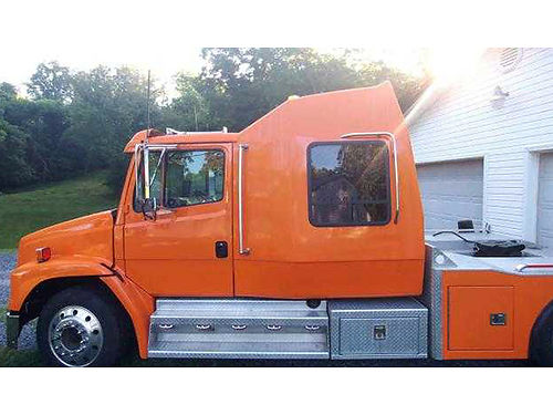 1997 FREIGHTLINER FL60 3126 Cat engine Allison 6sp trans 86K miles brakes  tires 75 33000 neg
