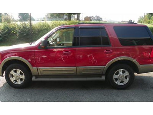 2003 FORD EXPEDITION Eddie Bauer 155K mi Automatic 3rd Row Seat DVD Player 54 V8 4X4 Great R