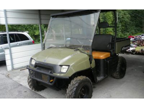 2007 POLARIS RANGER 700 44 2 speed automatic dump bed good tires This little thing runs really