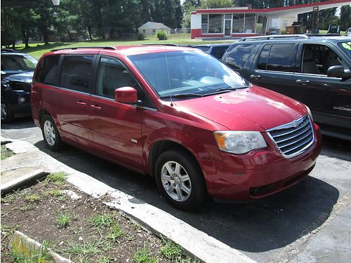 2008 CHRYSLER TOWN  COUNTRY Touring leather loaded 1249 6800 ALLEN HODGE MOTORS Bristol TN