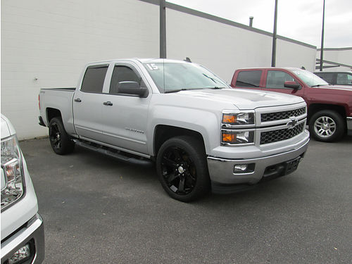 2015 CHEVY SILVERADO 4x4 53 v8 Rally 2 package Nav leather loaded 0980 29995 VADLR - CRABT