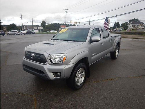 2015 TOYOTA TACOMA Double Cab long bed 4WD 41469 mi 12281 27950 CARLS AUTO Blountville TN