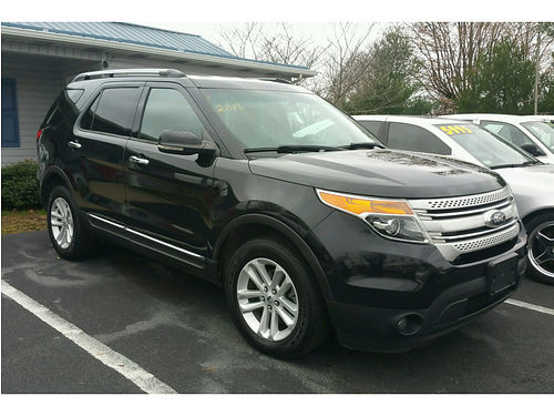 2013 FORD EXPLORER XLT 4x4 loaded clean one owner clean carfax Black Beauty 1312 16900 MR