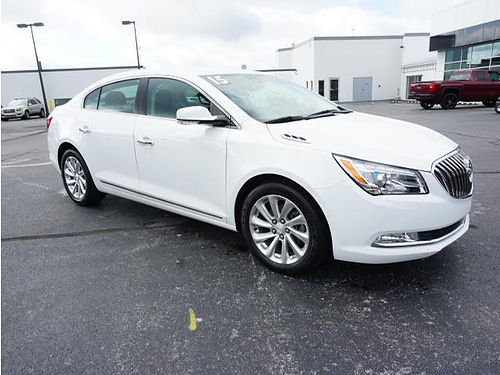 2015 BUICK LACROSSE leather sunroof 1 owner loaded low miles 6301 21995 VADLR - CRABTREE BUI