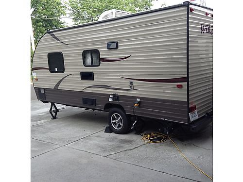 2015 WOLF PUP TRAVEL TRAILER, 18', SLEEPS ...