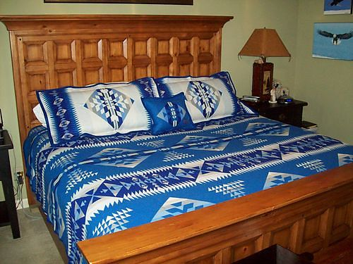 BEDDING Brand New by Pendleton Woolen Mills in Bend Oregon King Size Bed Spread 2 King Size Pill