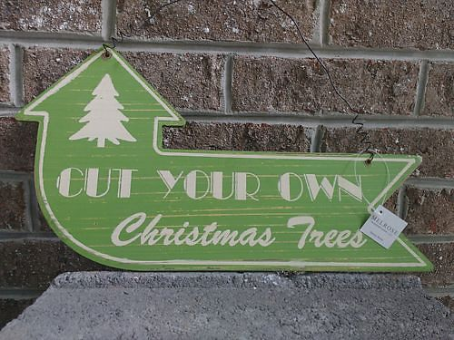 HOLIDAY WOOD GREEN SIGNAGE 8 Knoxville 865-242-1512 see photo at wwwrecyclercom