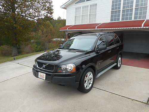 2004 VOLVO XC90 25 T AWD 2004 VOLVO XC90 25 T AWD black wgray leather auto all power air CD