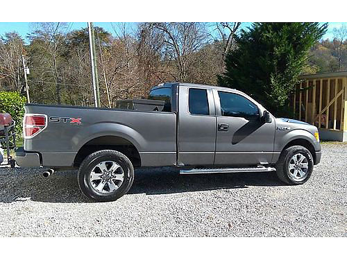 2013 FORD F-150 STX Ext Cab 4x4 50L V8 auto Fully Loaded step bars tow hooks tool box bedlin