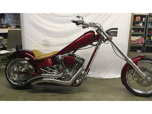 2005 AMERICAN IRONHORSE Texas Chopper Only 3500 miles 111ci SS motor VH pipes New tires Ext