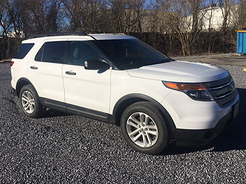 2015 FORD EXPLORER V6 auto loaded keyless entry tow hitch new tires 14900 276-393-0067
