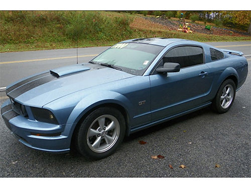 2008 FORD MUSTANG GT 46 V8 5sp Hurst short thro shifter Flowmasters leather new tires 09812C