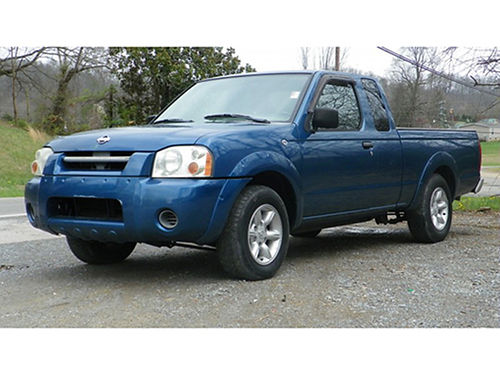 2001 NISSAN FRONTIER Ext Cab good tires manual windows  loos 09783C 5300 Bluff City Used Cars
