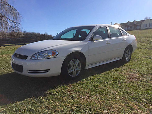 2009 CHEVROLET IMPALA LS white 4dr 62K miles newer tires battery VGC 6300 obo no trades