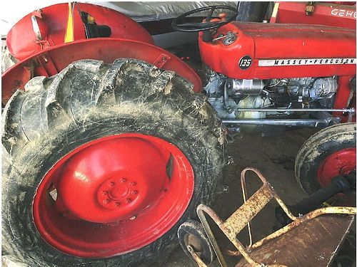 MASSEY FERGUSON 135 farm tractor diesel runs good 5800 423-579-4044 423-408