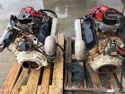 FORD 351 V8 engine 4bbl carb complete runs great 400 276-494-3207
