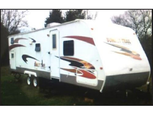 2008 CROSSROADS SUNSET TRAIL TRAVEL TRAILER 31 Sleeps 8 Single Slideout HA Full Kitchen  Bat