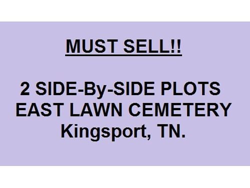 EAST LAWN CEMETERY Kingsport 2 Plots Side by side in the Garden of David Very Beautiful Setting