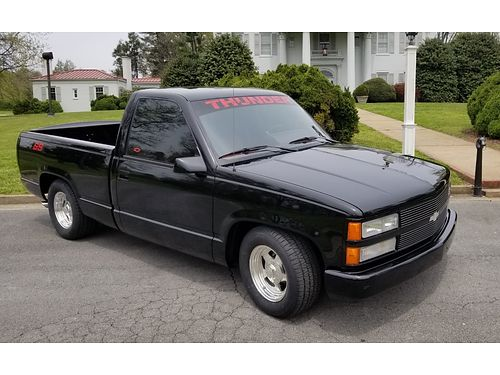 1990 CHEVROLET SS LTD EDT PICKUP 454 auto Loaded wALL Factory Options Always Garaged ONLY 2800