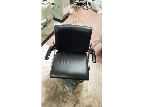 BARBER CHAIRS (2), VERY HEAVY BASE, $100 EACH
