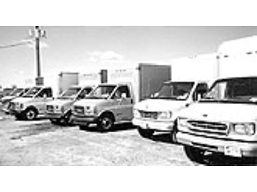 GMC BOX VANS 2004s 2005s  2006s Starting at 5000 Ask for Tucker 662-392-0203
