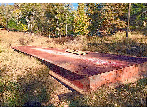 GRAIN DUMP PLATFORM 10 ft wide 63 ft long Perfect for bridges located 6 miles North of Carroll
