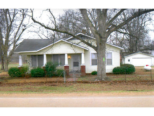 HOUSE FOR SALE 3BR1 12 BA on approx 1 acre at Eden MS 8 miles from Yazoo City on Hwy 49-E