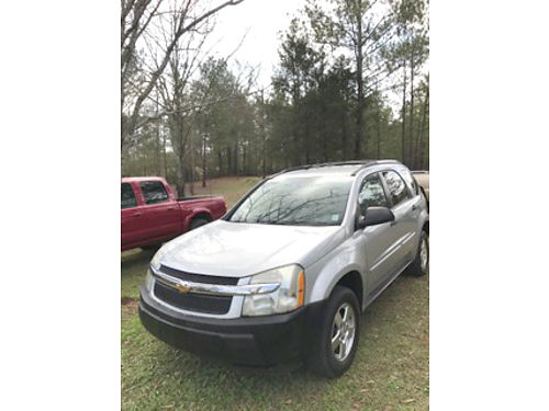 2005 CHEVROLET EQUINOX gray 210k clean inside  out runs good good condition 3800 CARTHAGE