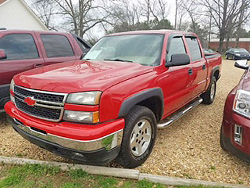 2006 CHEVROLET SILVERADO crew cab Z71 LT package red beige leather Bose stereo pw pdl tilt