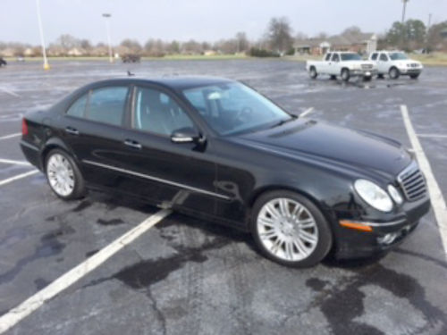 2007 MERCEDES E350 black wleather interior sunroof power seats pw pdl tiltcruise stereo NI