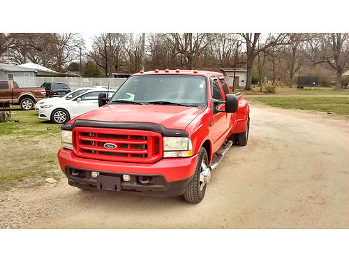 2003 FORD F-350 DUALLY CREW CAB 60L Power Stroke very nice truck 11900 obo BATESVILLE CALL 66