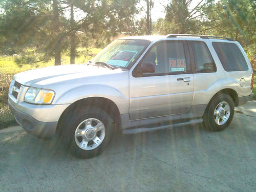 2002 FORD EXPLORER Sport Edition one owner extra clean inside  out cold ac runs great  looks