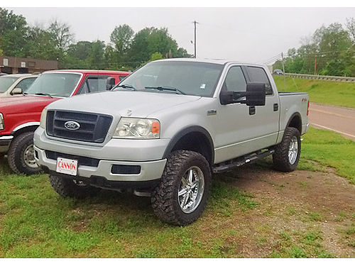 2004 FORD F-150 Crew Cab 4x4 FX4 54L very nice truck and a MUST SEE Good tires good condition