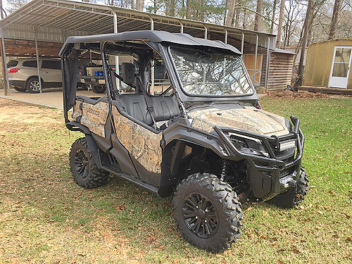 2016 HONDA 1000 Side X Side ATV fully loaded 5k added accessories 145 hrs 18500 MAGEE