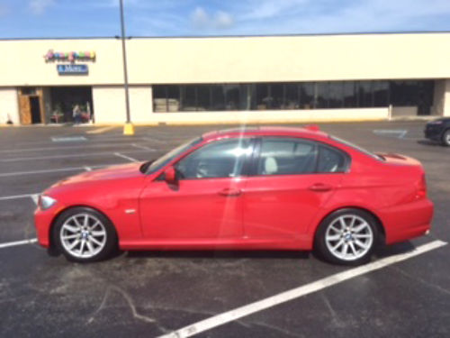 2009 BMW 328I 123k miles red wtan leather automatic power sunroof sport wheels fantastic look