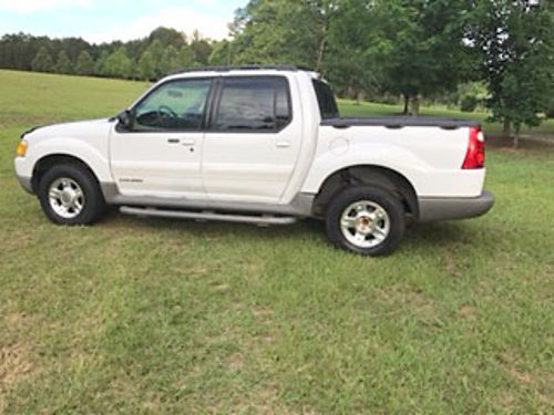 2001 FORD SPORTS TRAC rebuilt transmission 12000 mile warranty all power white in color 3900