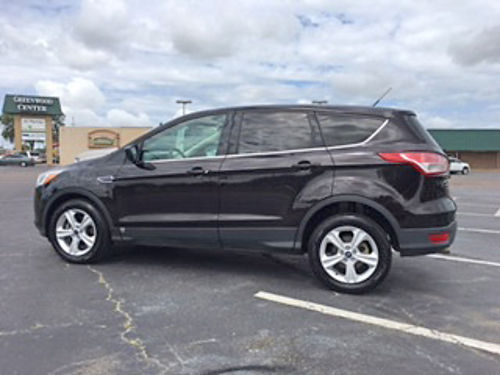 2013 FORD ESCAPE black wgray cloth new body style new features automatic sport wheels pw pdl
