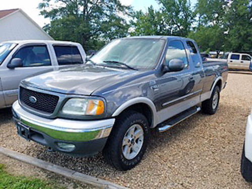 2003 FORD F-150 LARIAT FX4 Supercab 4WD 54 V8 automatic gray gray leather new tires servic