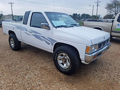 1995 NISSAN HARD BODY ext cab 4WD V6 automatic alloy wheels Toyo tires chrome package 151k